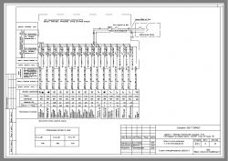 принципиальная однолинейная схема 10 3 кв